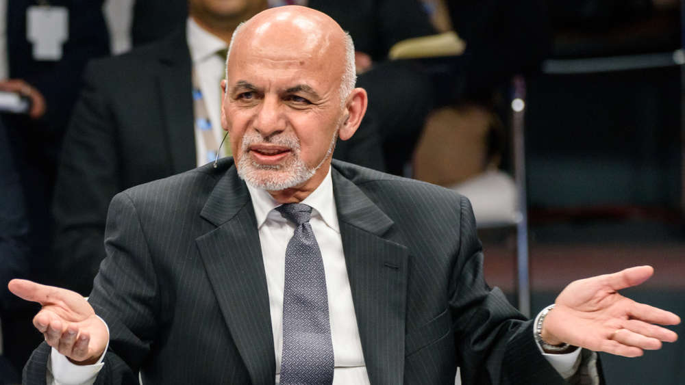 President  Ashraf Ghani at SUMMIT, Belgium, 2018.