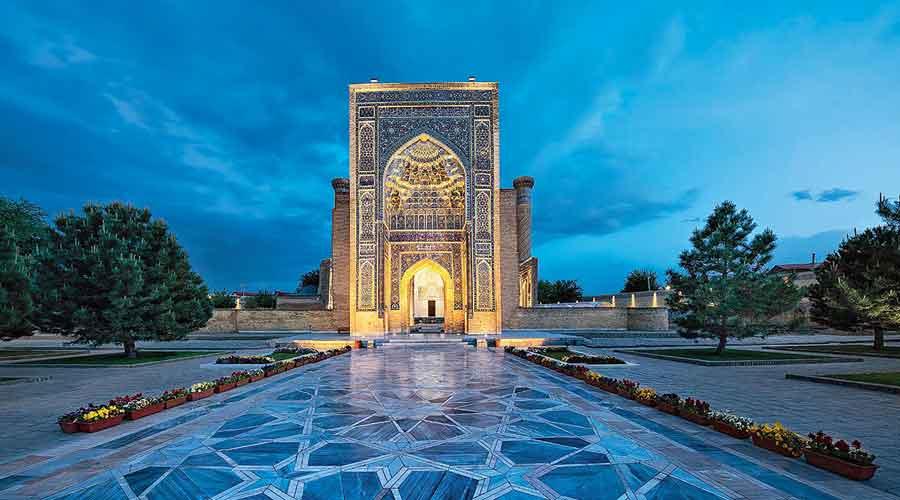 Samarkhand in Uzbekistan