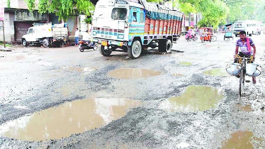 Sources in Nabanna said that usually roads across the state are maintained regularly but the pandemic scuttled this routine maintenance