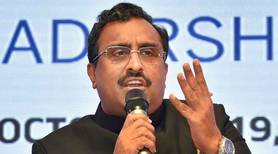 BJP national general secretary Ram Madhav