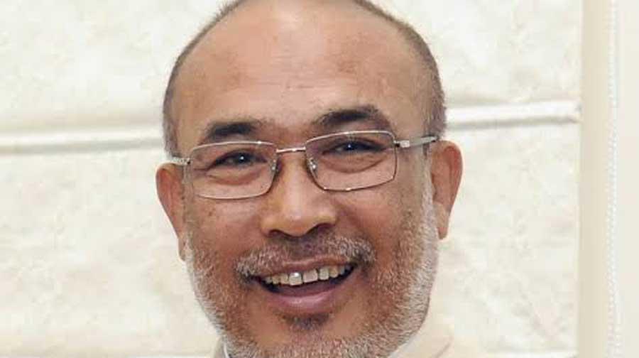 Manipur chief minister N. Biren Singh