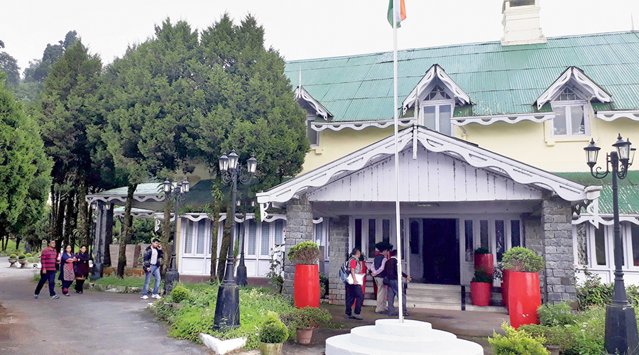 Lal Kothi, the GTA headquarters in Darjeeling