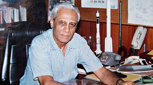 Satish Dhawan.