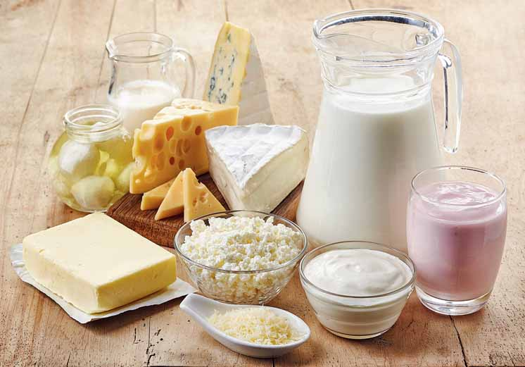 Milk and other dairy products are the top sources of artery-clogging saturated fat. Milk products also contain cholesterol.