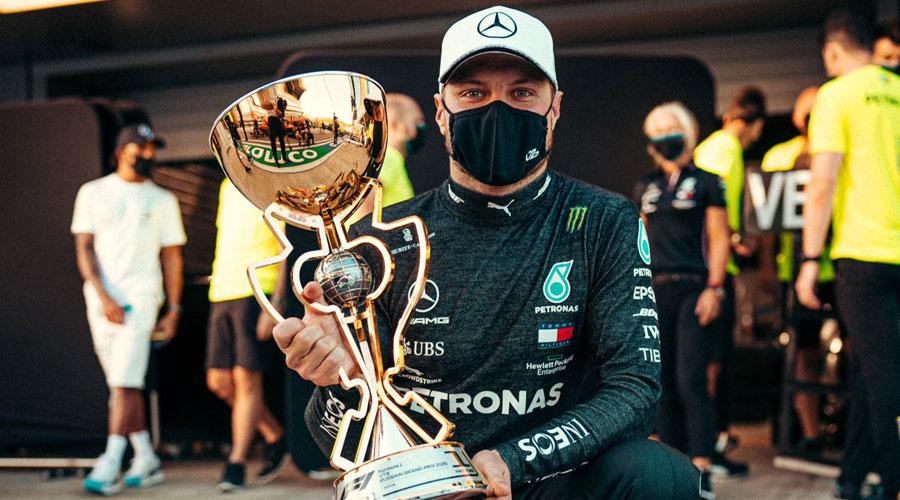 Valtteri Bottas won Russian Grand Prix on Sunday.