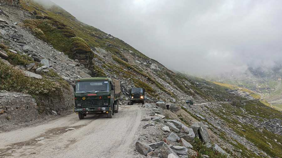 Here is what the Indian Army's biggest logistic operation looks like