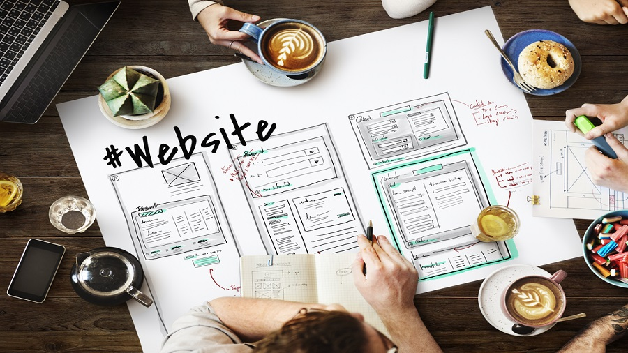 If we look at a website or a mobile application, it has three main components: programming or coding, design and user interface.