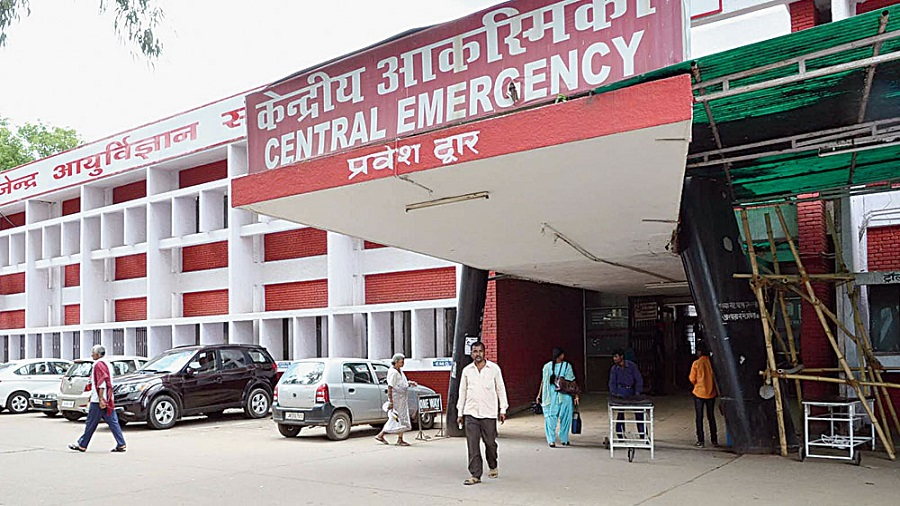 Rajendra Institute of Medical Sciences (RIMS) in Ranchi is the largest government hospital in Jharkhand
