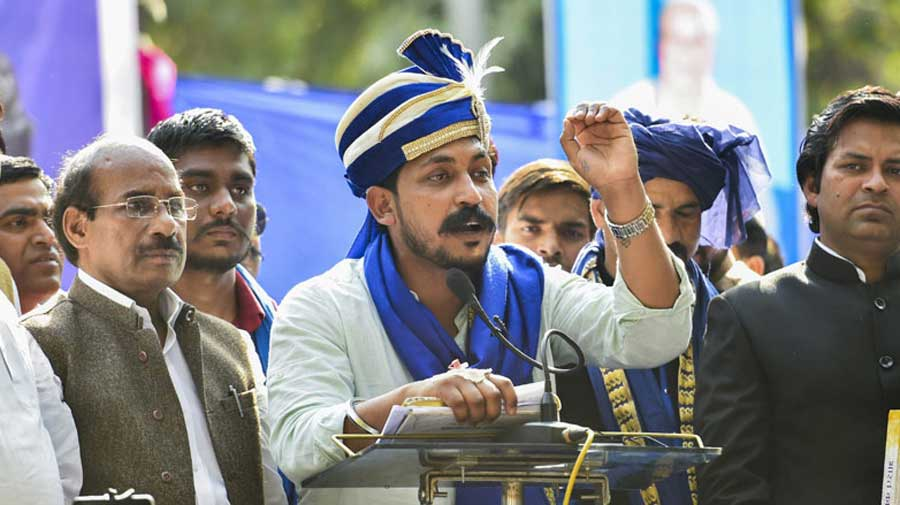 Bhim Army chief Chandrashekhar Azad said the organisation will contest the polls through its political front Azad Samaj Party, which he heads.