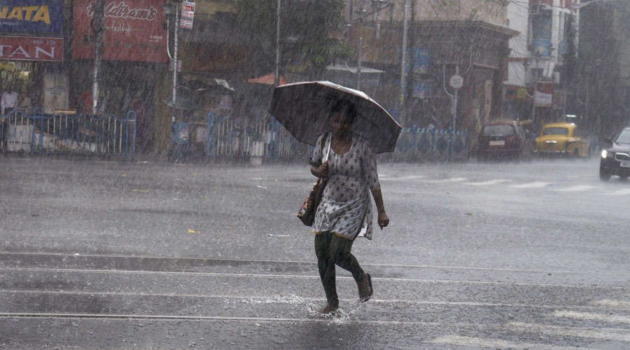 The average volume of rain September brings in Calcutta is around 310mm, said a Met official