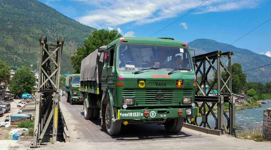 According to an assessment, China has deployed around 50,000 soldiers along the Line of Actual Control in eastern Ladakh