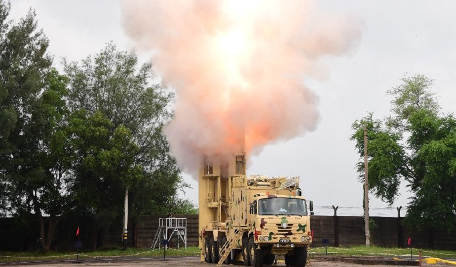 DRDO launches the BrahMos supersonic cruise missile