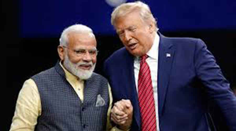 Trump clubs India with China over virus