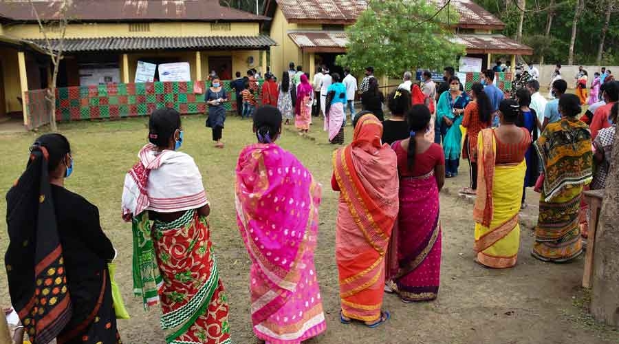 Assam:  EVM takes a BJP 'lift'