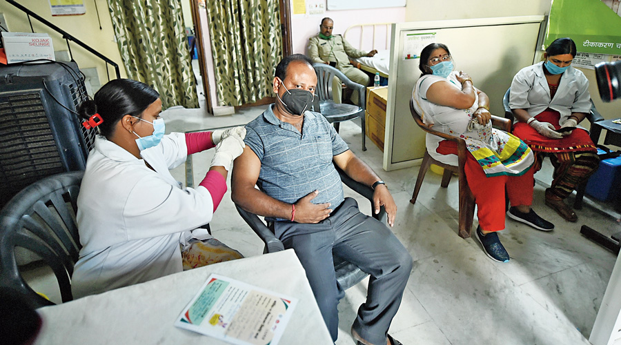 Vaccination in slow lane as infections surge