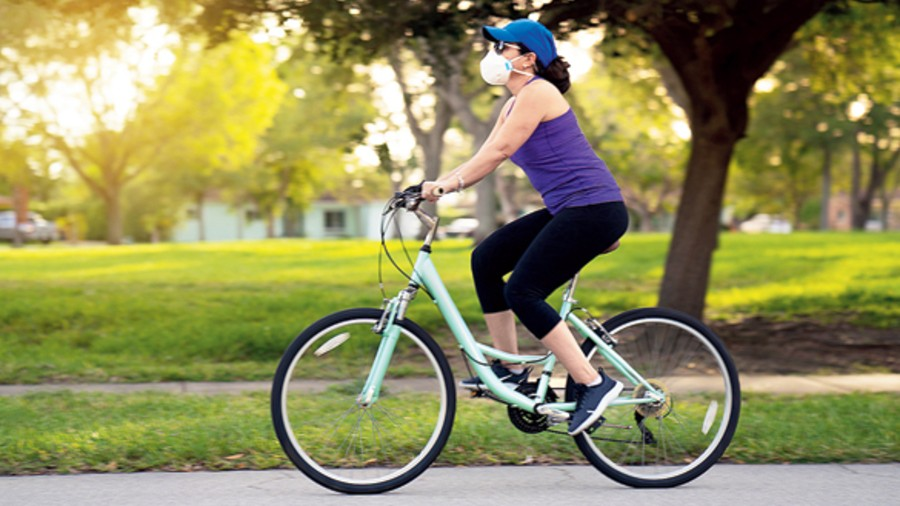 Indoor cycling is advisable for people with weak back, shoulder, ankles and/or knees