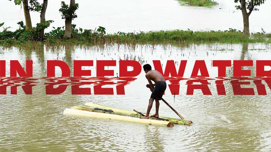In deep water: Floods, erosion in Assam