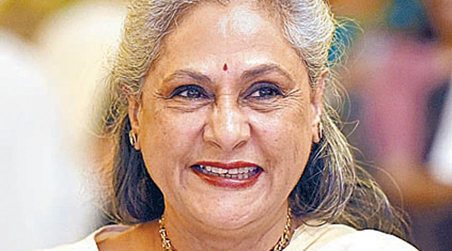 Samajwadi Party MP Jaya Bachchan.