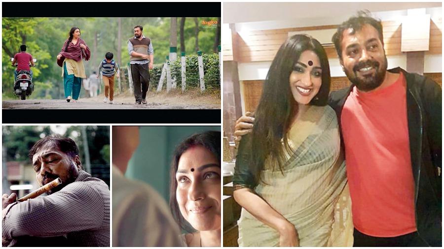 Moments from the Hindi film Bansuri