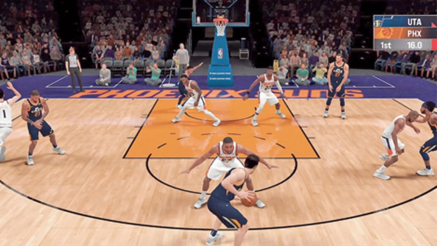 NBA 2K21 Arcade Edition from 2K Games features performance optimisations and higher graphic quality to deliver an authentic NBA experience.