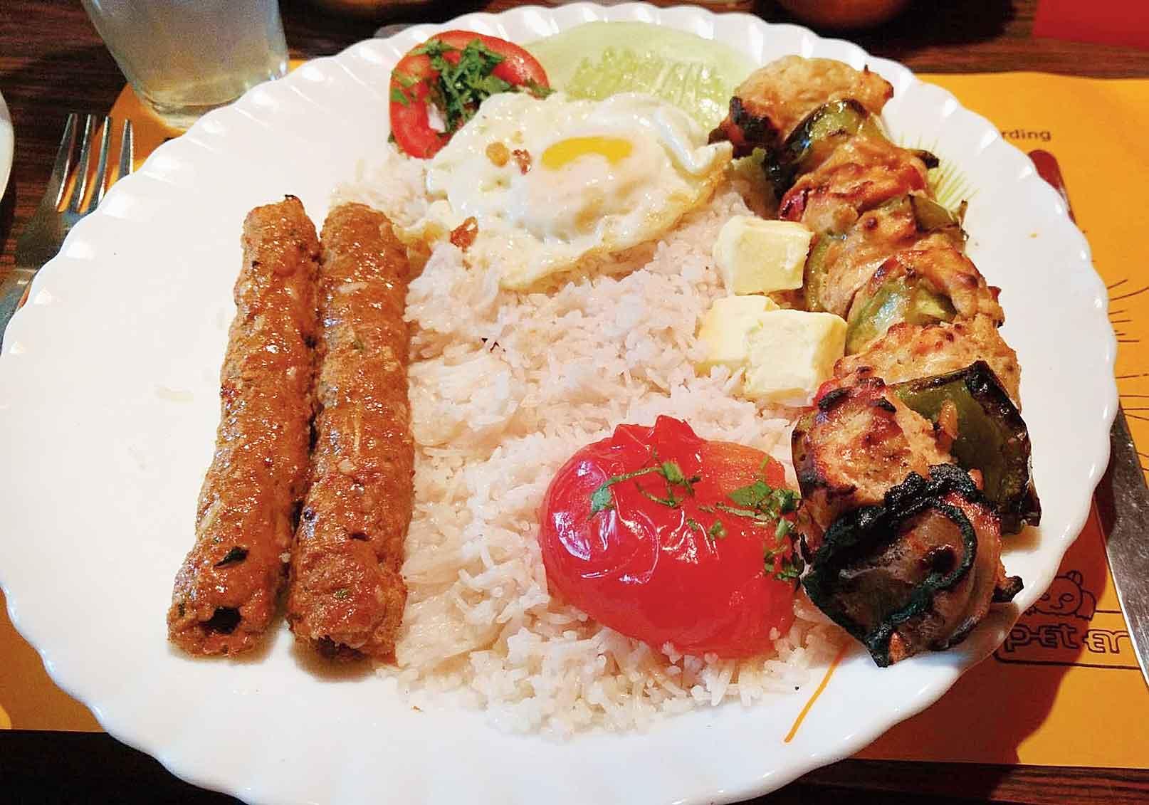 From Iran's platter