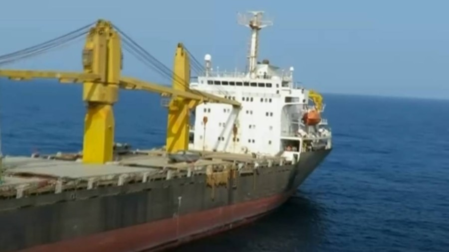 According Ito slamic Revolutionary Guards Corps said the vessel had been deployed in the Red Sea for some time to combat pirates