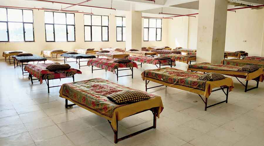 An isolation ward in Ranchi.