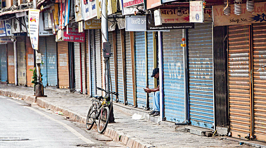 The government has not lifted lockdown-like curbs as Covid-19 has not been controlled completely yet, said CMO on Thursday.