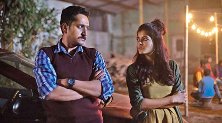 Parambrata and Madhumita in Tangra Blues, playing in theatres now