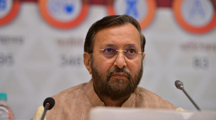 Union minister Prakash Javadekar.