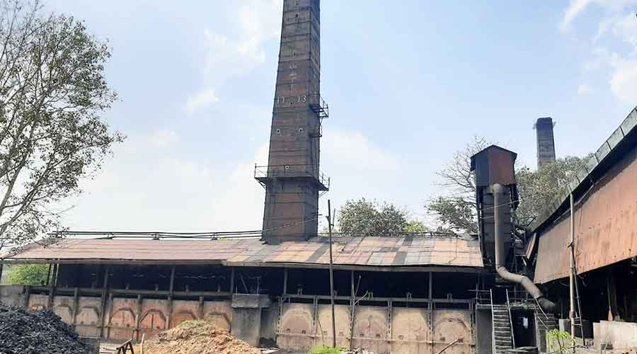 A coking coal factory at Topchanchi in Dhanbad last week.