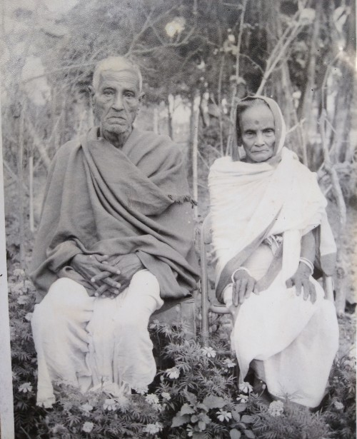 Satyaranjan Bisharad, Rabindranath's youngest uncle, settled down in Majuli in Assam with wife Arunprabha Devi