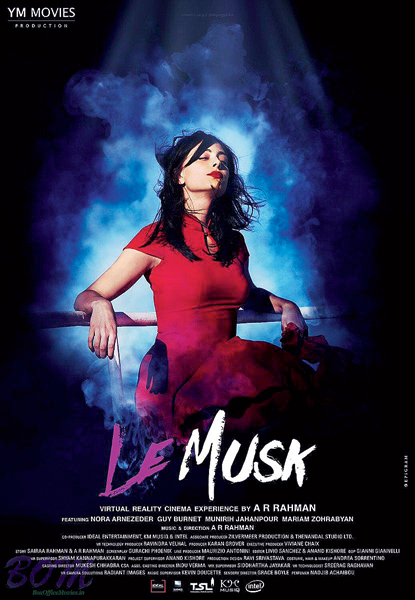 The poster of Le Musk, Rahman's debut as director