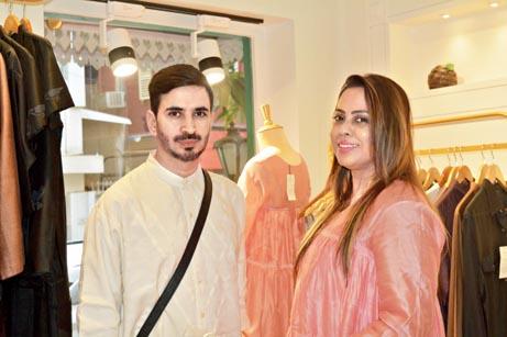Wajahat Rather and Sanhita Moulik