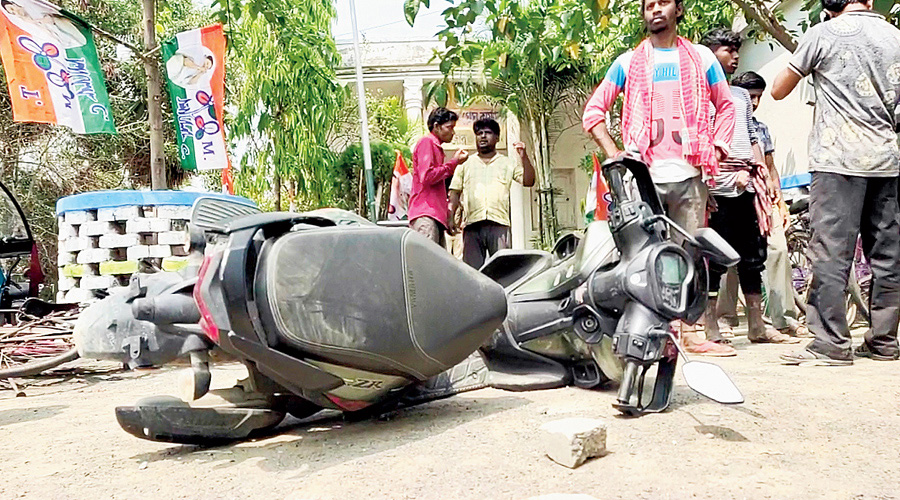 A senior police officer who has served in Birbhum for at least 10 years said the stocks of crude bombs appeared unending.
