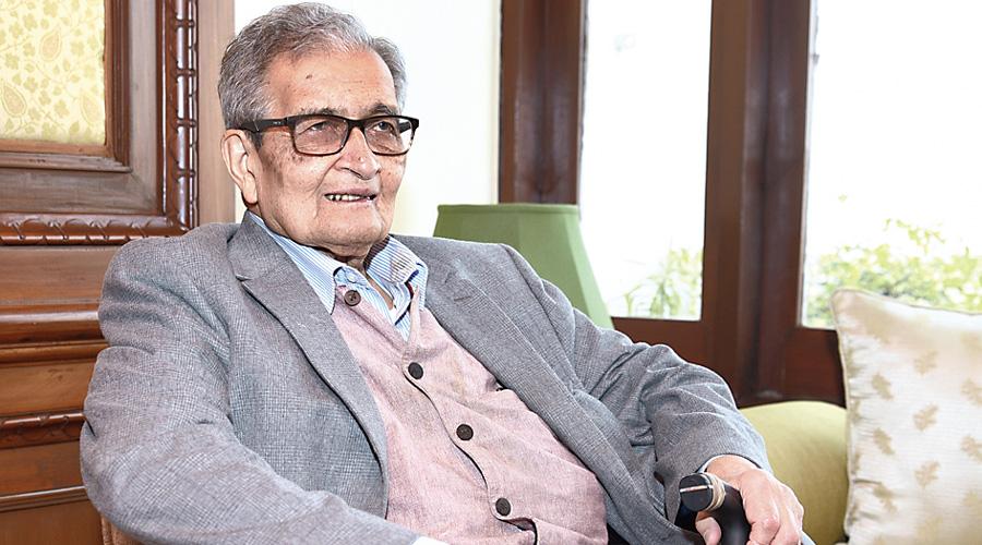 Economist and Nobel laureate Amartya Sen.