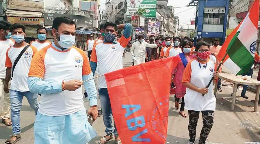 RSS student front in race to garner votes for BJP