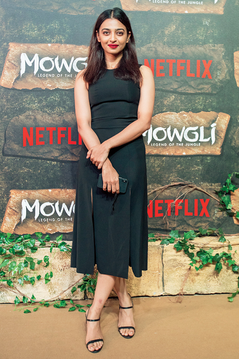 A peer of yours whose hair and skin you love: Radhika Apte