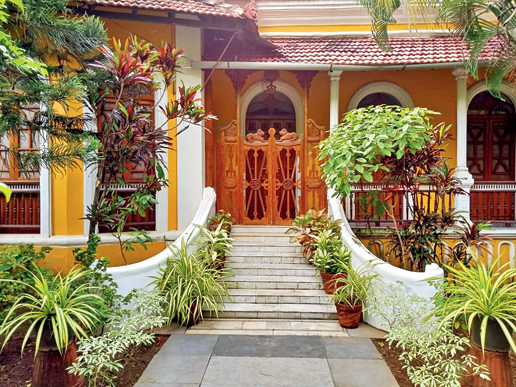 Bara Bungalow — a professionally run homestay in a heritage Goan house with all the comforts of home, great cooking and room service