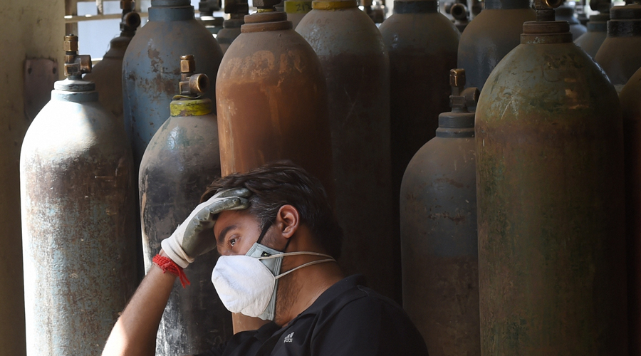 """On the oxygen crisis, the high court said: """"(The) death of Covid patients just for  non-supplying of oxygen to the hospitals is a criminal act and not less than a genocide by those who have been entrusted the task to ensure continuous procurement and supply chain of the liquid medical oxygen."""""""