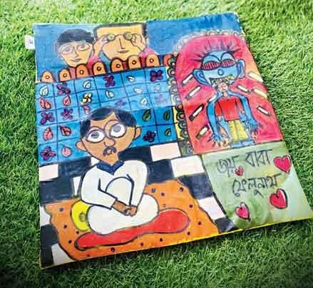 Feluda Cushion Cover by Bag of Bong