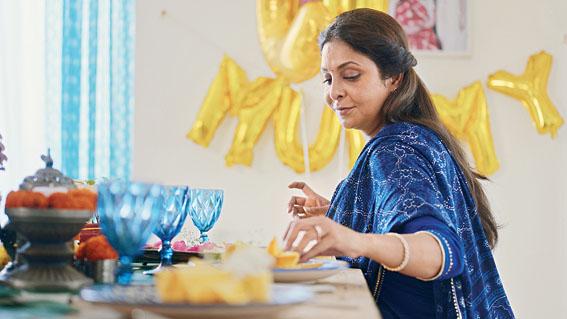 Shefali in her directorial debut Happy Birthday Mummyji