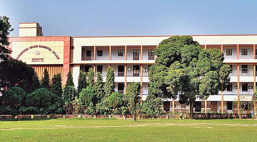 Ramakrishna Mission Residential College.