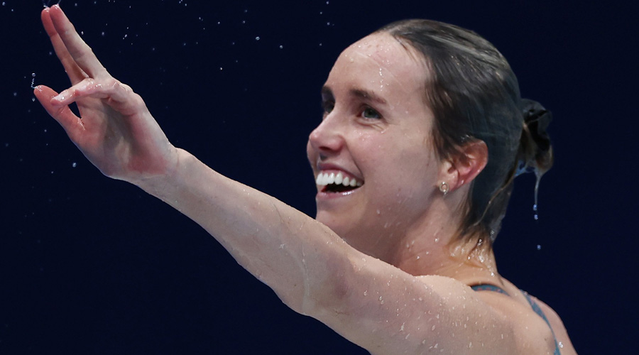 Australia's Emma McKeon becomes first female swimmer to ...