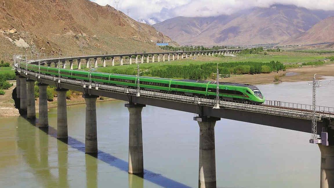 Lhasa-Nyingchi railways.