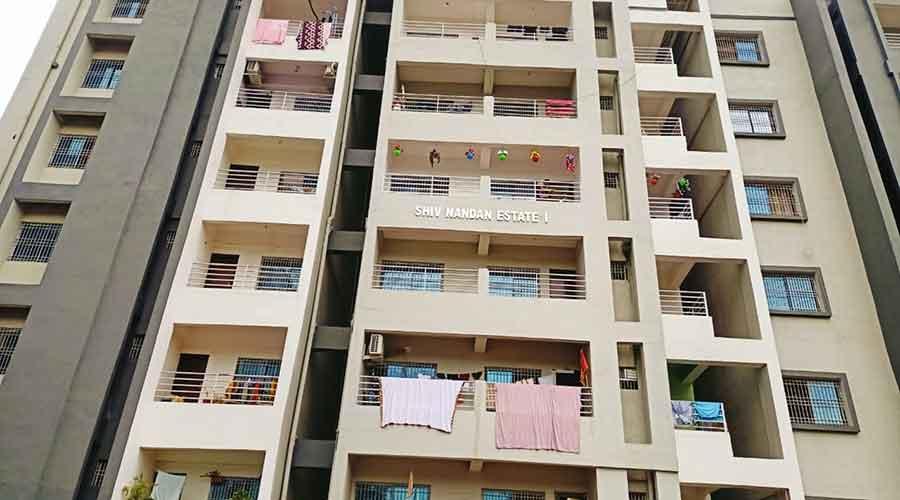 Shivnandan apartment in Hazaribagh on Friday.