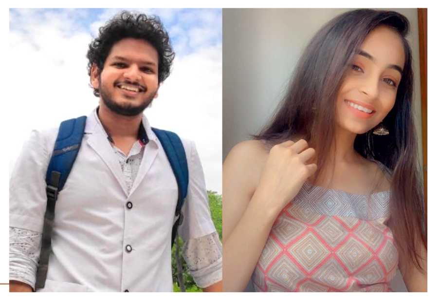 Anuj Pachhel (left) is a third-year MBBS student with a popular YouTube channel and Radhika Kotak is a final year medical student with an Instagram blog. Both use the iPad to power their lives