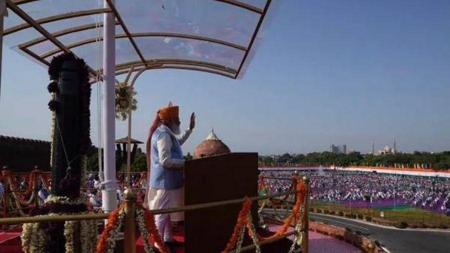 Narendra Modi addresses the nation on Sunday.