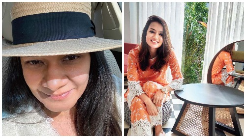 (L-R) Priyanka and Saumya Modi