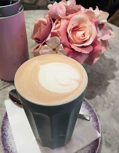 Do not fall victim to diet culture and assume that a cappuccino with almond milk is better than a normal latte cafe